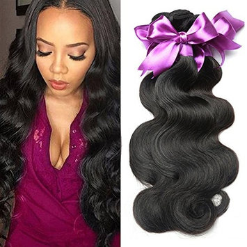 Dream Like Unprocessed Body Wave Human Hair Weave 3 Bundles Brazilian Virgin Hair (18 20 22inch) Body Wave Wet And Wavy Human Hair Natural Color Can Be Dyed and Bleached