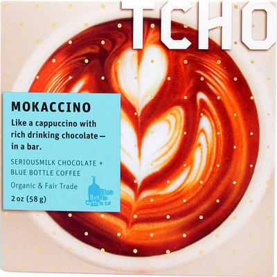 TCHO Mokaccino SeriousMilk Chocolate Blue Bottle Coffee 2 oz