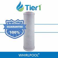 Tier1 Pentek P-250 0.5 Micron 10 x 2.5 Comparable Undersink Water Filter Set