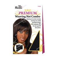 (PACK OF 6) ANNIE MS REMI DELUXE WEAVING NET COMBO [BLACK] (04568) : Beauty