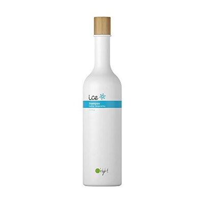 O'right Ice Shampoo (400ml) Cooling and Invigorating, Sulfate Free, SLS Free, Gluten Free, Vegan Friendly