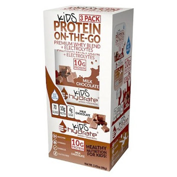 E-Hydrate On-the-Go Ready-To-Mix Kids Protein Drink - Milk Chocolate - 3ct