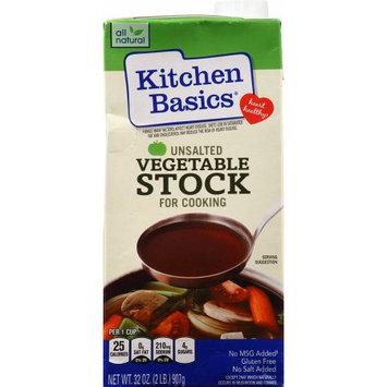 Kitchen Basics No Salt Vegetable Stock, 32 OZ (Pack of 2)