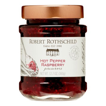 Rbrtro Robert Rothschild Hot Pepper Raspberry Preserves, 12.7 Oz