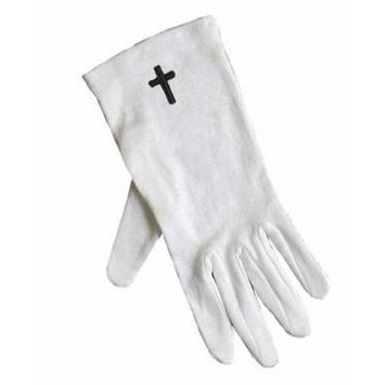 Swanson Christian Supply 150406 Gloves Usher With Cross Only Large