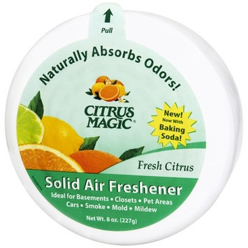 Citrus Magic Solid Air Freshener Citrus Scent 8.0 oz.(pack of 12)