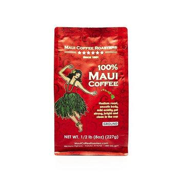 Maui Coffee Roasters 100% Maui Coffee Ground 8 ounces.