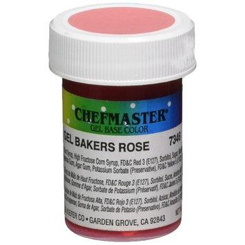 Chefmaster Gel Food Color, 1-Ounce, Baker's Rose