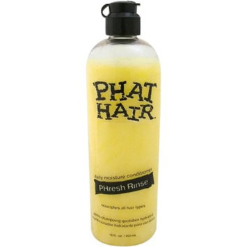 Phat Hair Daily Moisture Phresh Rinse Conditioner for Unisex, 16 fl oz