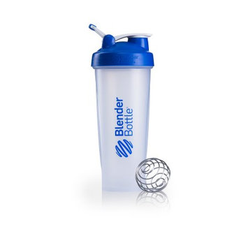 Sundesa Blender Bottle Classic 32 oz. Shaker with Loop Top - Clear/Blue