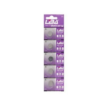 CR1220 3V Lithium Coin Cell Button Batteries CR-1220 5-Pack + Worldwide free shiping