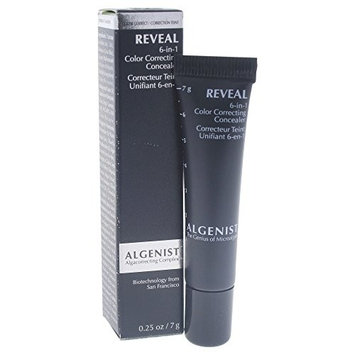 Algenist Reveal 6-in-1 Color Correcting Concealer, Medium, 0.25 Ounce