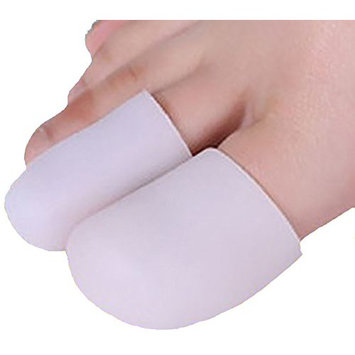 Toe Sleeves, Toe Protector or Finger Protectors, 4 Caps