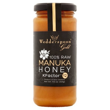 Wedderspoon Organic Usa, Llc Wedderspoon, Honey Manka 100 Raw 12+, 11.5 Oz (Pack Of 6)