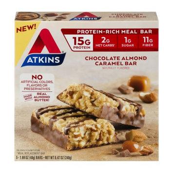 Atkins Nutritionals, Inc. Atkins Protein-Rich Meal Bar Chocolate Almond Caramel Bar - 5 CT