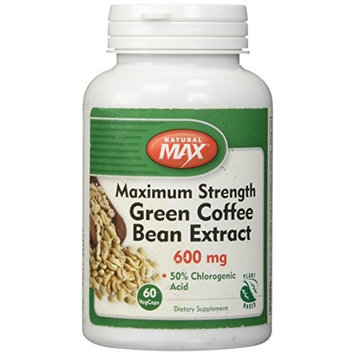 Natural Balance 600 mg Green Coffee Bean Extract, 60 Count