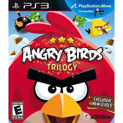Activision Angry Birds Trilogy (PS3) - Pre-Owned
