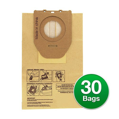 Replacement Vacuum Bag for Oreck ET511PK (6-Pack) Replacement Vacuum Bag