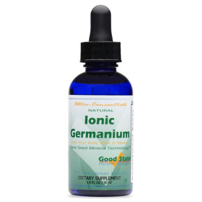 Good State Liquid Ionic Germanium Ultra Concentrate - 10 Drops Equals 500 Mcg - 100 Servings Per Bottle
