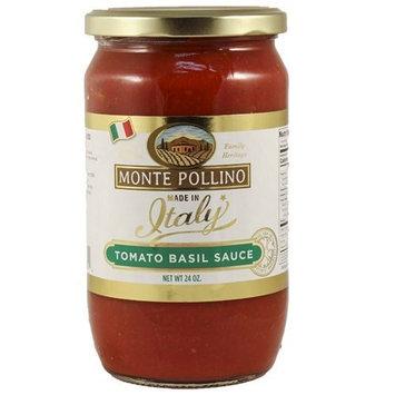 Monte Pollino Tomato Basil Pasta Sauce 24oz (6 Pack) Italy