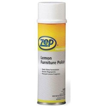 Zep Professional R04401 Furniture Polish, Lemon Fragrance (12 Aerosol of 20 oz)