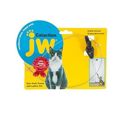 Petmate JW Pet Cataction Doorknob Teaser with Cuz