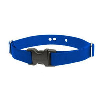 Lupine 1-Inch Blue Containment Collar Strap []