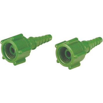 Swivel Barb Hose Nipple - Oxygen Swivel Connector Pk/25