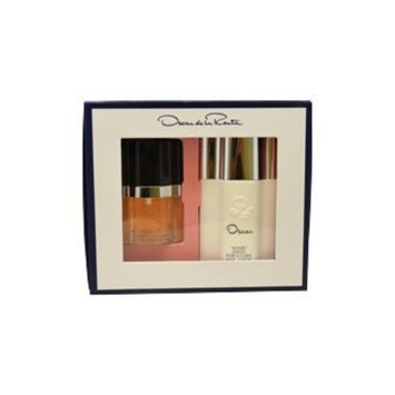 Oscar De La Renta for Women Gift Set (Eau De Toilette Spray, Body Lotion)