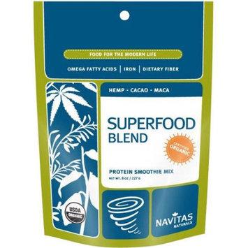 Navitas Naturals Superfood Blend Protein Smoothie Mix, 8 oz
