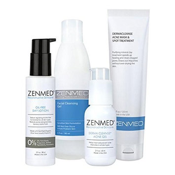 ZENMED Acne Therapy for Oily Skin - All Natural Treatment Ideal for Teens or Anyone Who Suffers from Excessive Oiliness