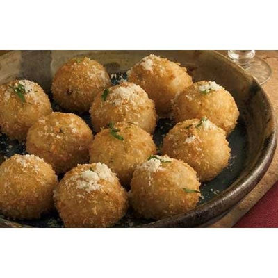 Simply Cuisine Smoked Gouda Arancini - 100 per case.