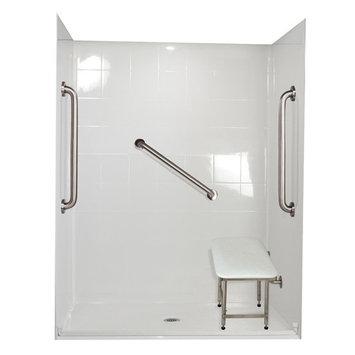 Ella Walk In Baths Standard Plus 24 Four Panel Shower Wall