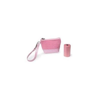 Clean Go Pet ZW5135 75 Waste Bag Wristlet Petal Pink