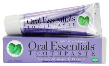 Oral Essentials 642018 3.75 oz Sensitivity Toothpaste Formula Mint Flavor - 35 per Case