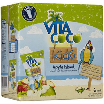 Vita Coco Kids Coconut Water Apple Island 6 Pack