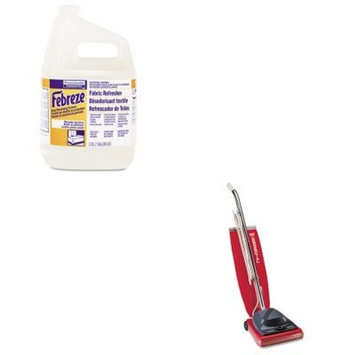 KITEUKSC684FPAG33032CT - Value Kit - Febreze Fabric Refresher amp;amp; Odor Eliminator (PAG33032CT) and Commercial Vacuum Cleaner, 16quot; (EUKSC684F)