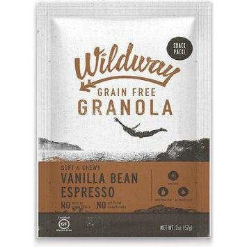 Wildway Grain-free Granola Snack Pack, Vanilla Bean Espresso, 4-pack (Certified gluten-free, Paleo, Vegan, Non-GMO)