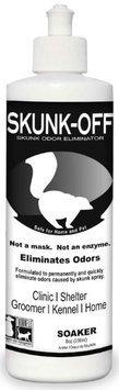 Lambert Vet Supply Skunk Off Liquid Soaker Pet Odor Eliminator 8OZ