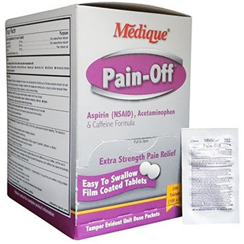 Pain-Off Extra Strength Pain Reliever Tablets 200 Per Box by Medique - MS71170