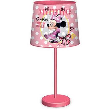 Idea Nuova Disney Minnie Mouse Table Lamp, Pink