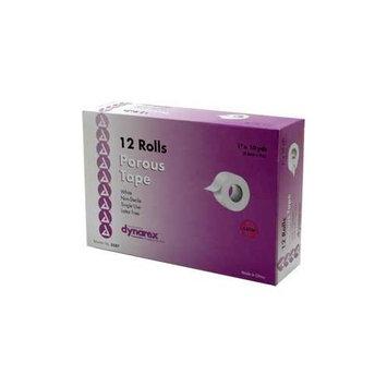 Adhesive Tape Porous 1 Inch White 12/box Latex Free []