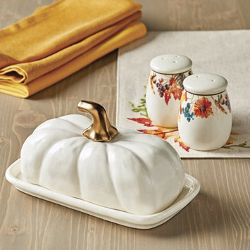 Bico International Company Ltd Better Homes and Gardens Set of 3 Butter Dishes, S