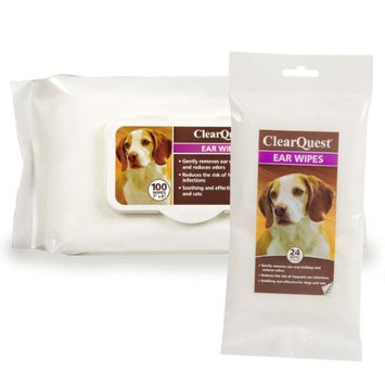 Clearquest Clear Quest Ear Wipes 100 Ct Bag