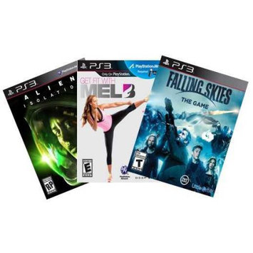 Alliance Distributors PS3 Value Pack with 3 games (PS3)