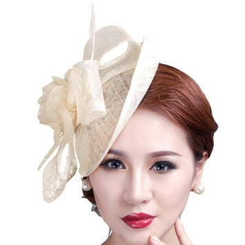 Fascigirl Cocktail Pillbox Hat Fascinator Hair Clip Bridal Headwear for Women