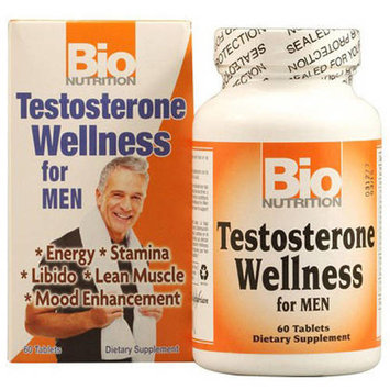 Bio Nutrition Inc Testosterone Wellness, Tablets, 60 CT
