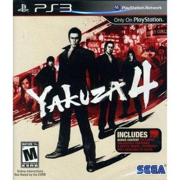 Sega 69043 Yakuza 4 PlayStation 3 Game