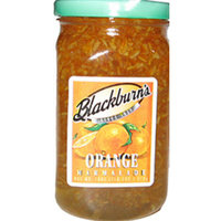 T J Blackburn Syrup Works Inc Blackburn's Orange Marmalade Jar 12/10 oz