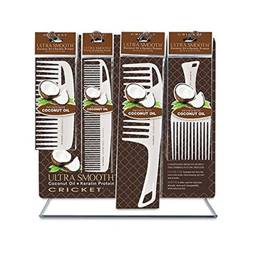 Cricket Ultra Smooth Coconut Counter Display, 24 Count